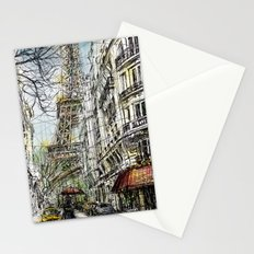 Paris V in colour Stationery Cards