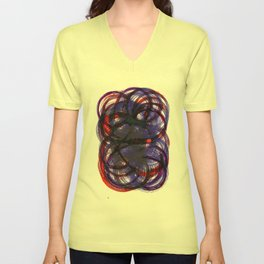 Intertwined Unisex V-Neck