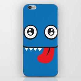 Blue Monster iPhone Skin
