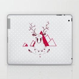 Christmas Geo Deer Laptop & iPad Skin