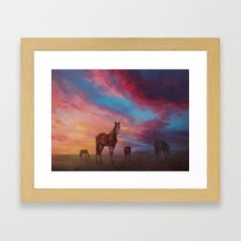 Heaven Framed Art Print