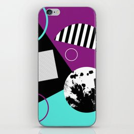 Bits And Bobs 2 - Abstract, geometric design iPhone Skin