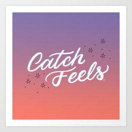Catch Feels - Sunset Palette Art Print