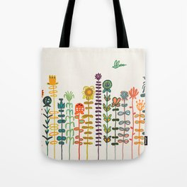 Happy garden Tote Bag