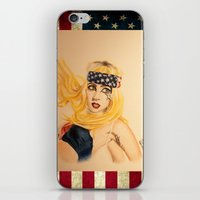telephone iPhone & iPod Skins featuring Telephone by Sergiomonster