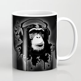 Monkey Business - Black Coffee Mug