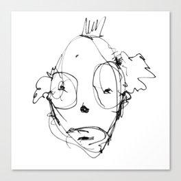 Clowns in Crowns #7 Canvas Print
