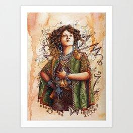 The Merry Widow Art Print