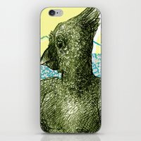 birdy iPhone & iPod Skins featuring birdy by jenapaul