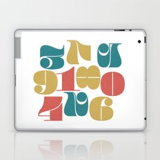Numerals Laptop & iPad Skin