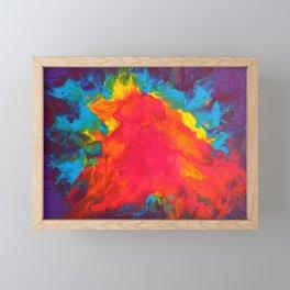 Rainbow Brightness Framed Mini Art Print