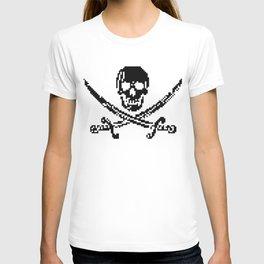8bit piracy  T-shirt