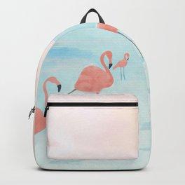 Big Flamingo Backpack