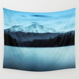 Mount Shasta Morning Wall Tapestry