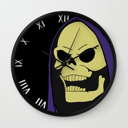 Skeletor Wall Clock