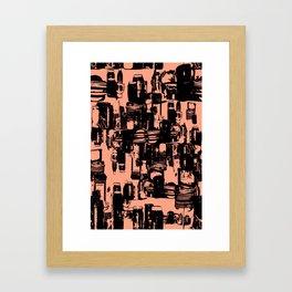 Dishes3 Framed Art Print
