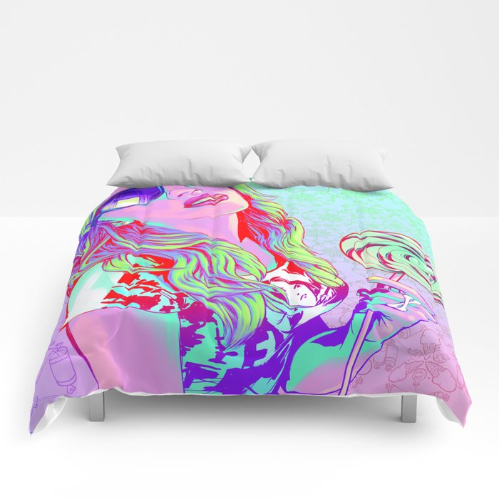 POWER: Bubble Gum POP Comforters