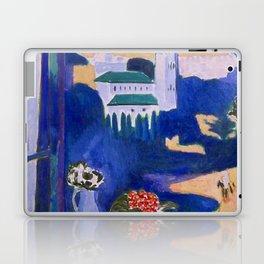 LANDSCAPE VIEWED FROM A WINDOW IN TANGIER - HENRI MATISSE Laptop & iPad Skin