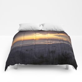 Cape San Blas Sunset  Comforters