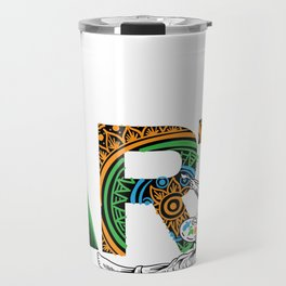 Eat Sleep Art Repeat Artist I arted Art Teacher Travel Mug