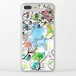 LOVING YOU IN SILENCE by mrs Wilkes Clear iPhone Case