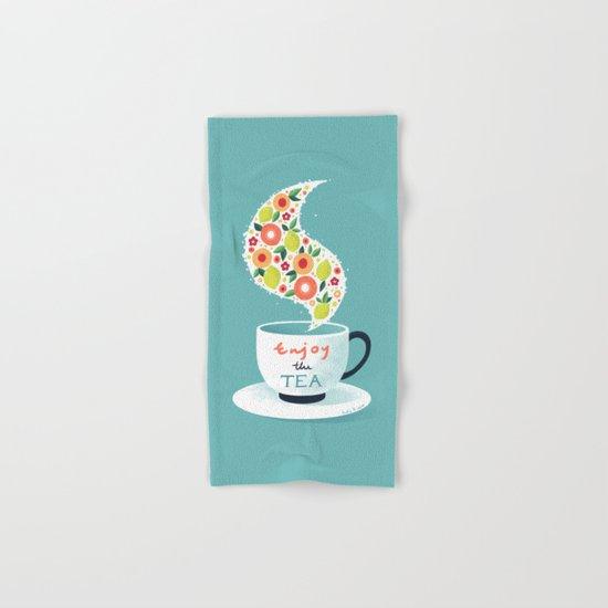 Enjoy the Tea Hand & Bath Towel