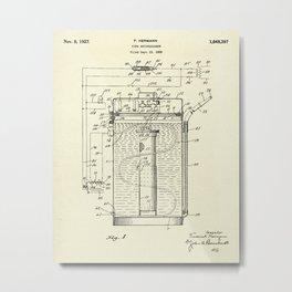 Fire Extinguisher-1927 Metal Print