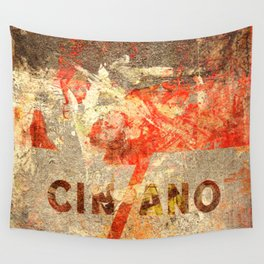 Cinzano - Vintage Vermouth Wall Tapestry