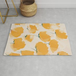 The Yellow Flowers Rug