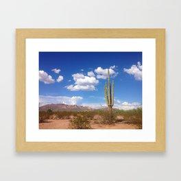 Desert Love Framed Art Print
