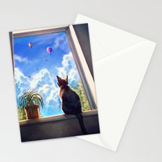 It's a big world out there Stationery Cards
