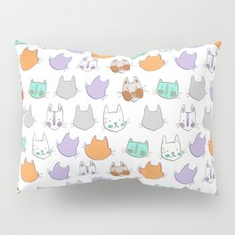 Kolor Kats Pillow Sham