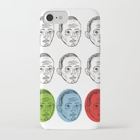 talking heads iPhone & iPod Cases featuring Heads by Nü Köza