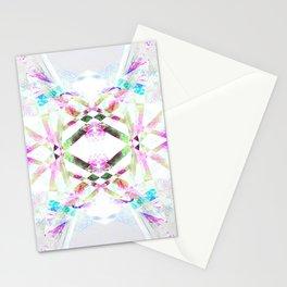 Kaleidoscopic .01 - Fractal Festival Style Stationery Cards