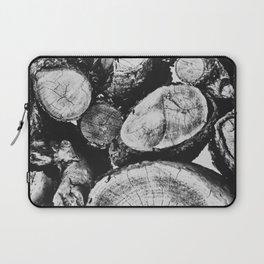 Cut wood II -Scandinavian art Laptop Sleeve