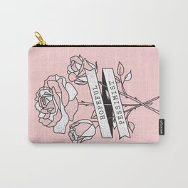 hopeful pessimist Carry-All Pouch