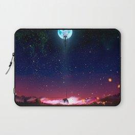 Evangelion Moon Laptop Sleeve