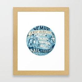 Learn to Sail Framed Art Print