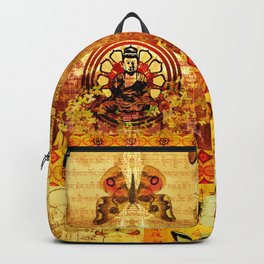 Buddha and Butterflies Backpack