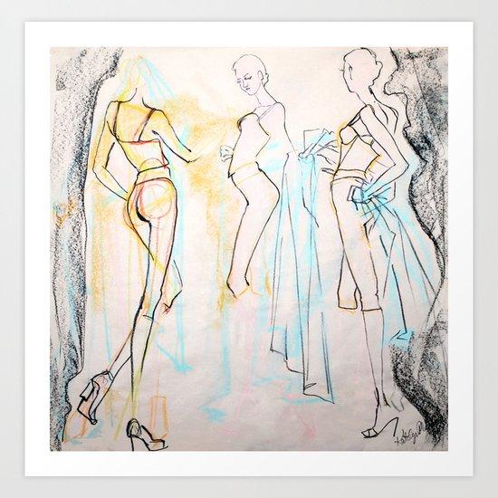 Skinny Legs and All Art Print