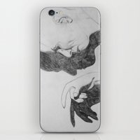 crowley iPhone & iPod Skins featuring Mr. Crowley by Bela Zebub