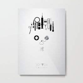 Doctor  | The world inside your head  Metal Print