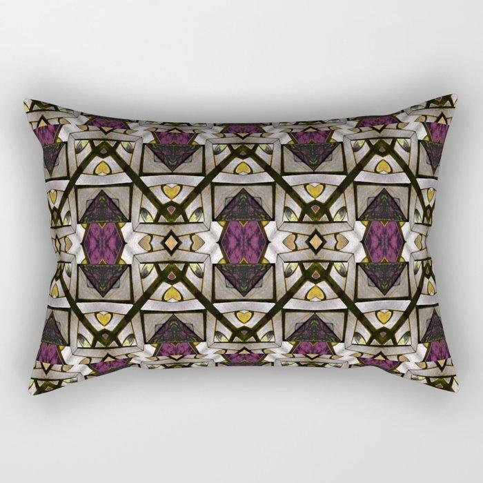 Abstract Geometric Modern Seamless Pattern Rectangular Pillow