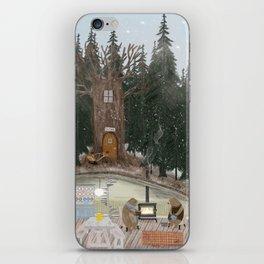 house of bear iPhone Skin