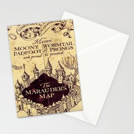bown map Stationery Cards