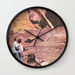 Monuments Wall Clock