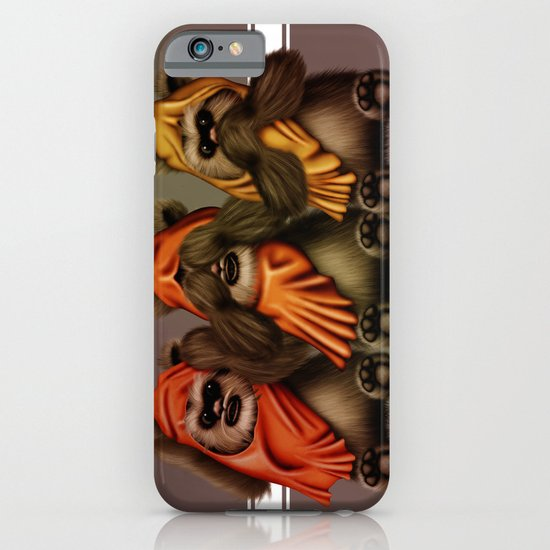 STAR WARS The Three Wise Ewoks iPhone & iPod Case