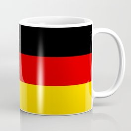 German flag - High Quality version both in scale and color Coffee Mug