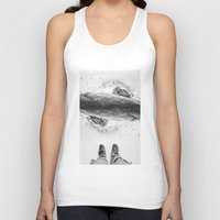 solid Tank Tops featuring Solid ground by Stoian Hitrov - Sto