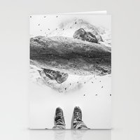 solid Stationery Cards featuring Solid ground by Stoian Hitrov - Sto
